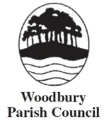 Woodbury Parish council logo