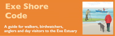 Exe Shore Code of Conduct leaflet