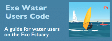 Exe Water Users Code of Conduct leaflet