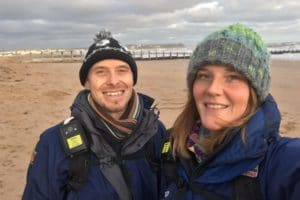 Will Scott and Amelia Davies, Habitat Mitigation Officers