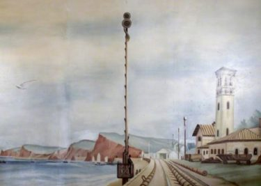 The Atmospheric Railway at Starcross in 1947