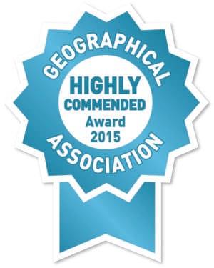 Geographical Award logo