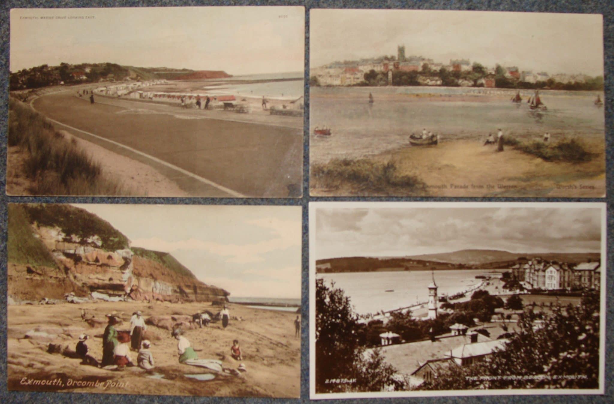 Image 2e: Historical photos of Exmouth and Dawlish Warren