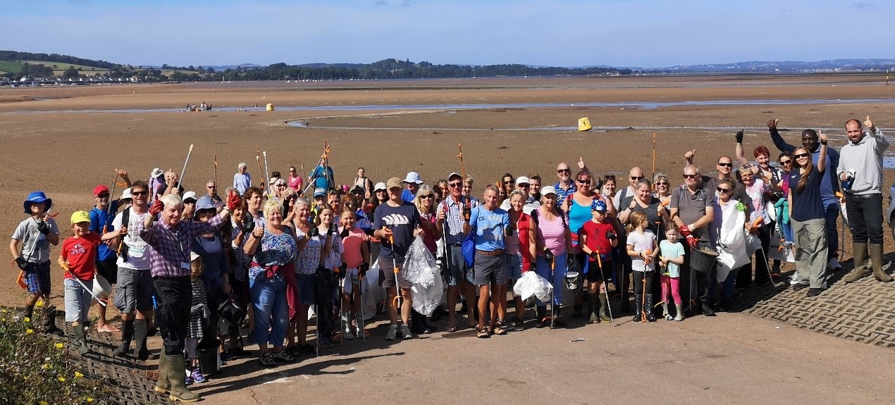 Image 5d: Beach Clean at Exmouth Local Nature Reserve. Source: EEMP.